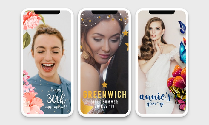 Personalized Snapchat Filters - Happy Filter | Groupon