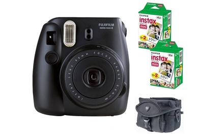 Fujifilm Instax Mini 8 Instant Film Camera with Case and 40 Shots