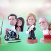 Up to 60% Off Single, Couple or Pet Customized Bobbleheads