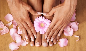 Active Clinic: Shellac Manicure or Pedicure or Both at Active Clinic (Up to 49% Off)
