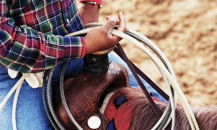 $12 for Two Tickets to the 61st Annual Johnson County Sheriff Posse PRCA Pro Rodeo on June 10 or 11 ($24 Value)