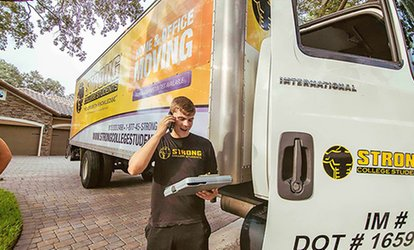 Moving Services and Supplies with Optional packing Service from Strong College Students Moving (Up to 58% Off)