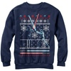 Star Wars Men's Ugly Christmas Sweater Fleece Sweatshirts (Size XXL)