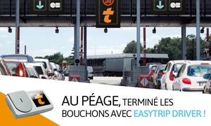 Easytrip: Télépéage : gagnez du temps aux barrières de péage avec le badge Liber-t Easytrip Driver à 6 € (63% de réduction)