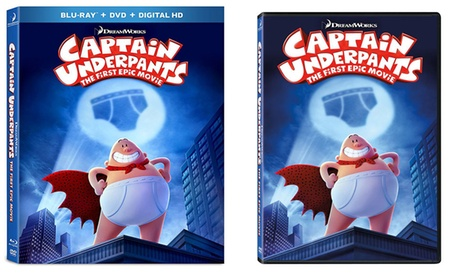Captain Underpants on DVD or Blu-ray Combo ba6767a2-8d08-11e7-9e43-00259069d868