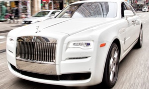 Sir Ghost: One-Hour Rolls Royce/Bentley Luxury Car Service from Sir Ghost (45% Off)