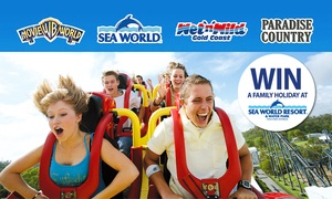 Village Roadshow Theme Parks: $89.99 Unlimited VIP Magic Pass to Warner Bros. Movie World, Sea World, Wet'n'Wild Gold Coast + Paradise Country
