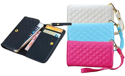 Waloo Premium Wallet Case for Apple iPhone 6 with 4.7
