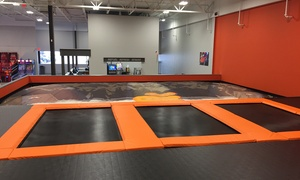 $14 for 1-Hour Trampoline Session for Two at AirTime Trampoline & Game Park - Grand Rapids ($24 Value)