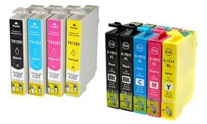 5 ou 10 encres compatibles Epson