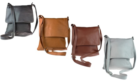 Cross-Body Calf Leather Shoulder Bag