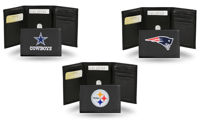 $19 for an NFL Embroidered Leather Wallet ($34.95 List Price). 32 Teams Available. Free Shipping and...