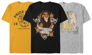 Men's Lion King Pride Tees
