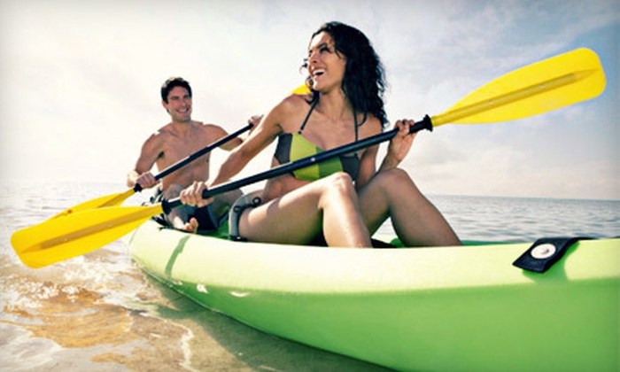 Beaver Dam Boat Rentals - Downe: Two- or Four-Hour Single or Tandem Kayak Rental from Beaver Dam Boat Rentals in Newport (Up to 58% Off)