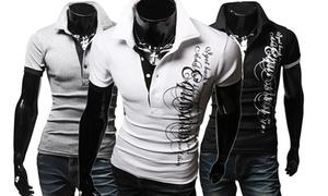 Polo homme fashion