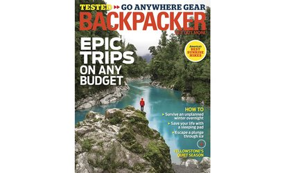 50% Off Backpacker Magazine Subscription