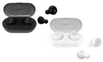 Fisher FTW210 True Wireless Bluetooth Earbuds w/ Mic and Charging Case