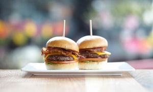 Sliderbar: Mighty Sliders and Craft Beers for Two or Four at Sliderbar (40% Off)