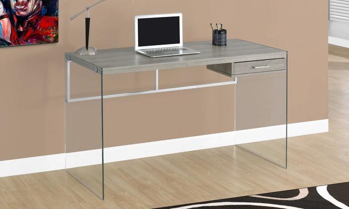 Delicieux Sleek Modern Computer Desk