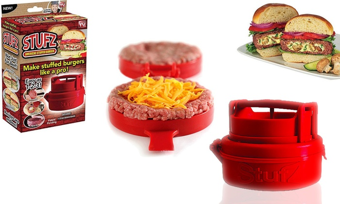 Stufz Stuffed Hamburger Maker
