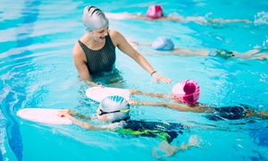 Champions UAE: Pool Access for One or Four or Eight Kids Swimming Classes at Champions UAE, Two Locations