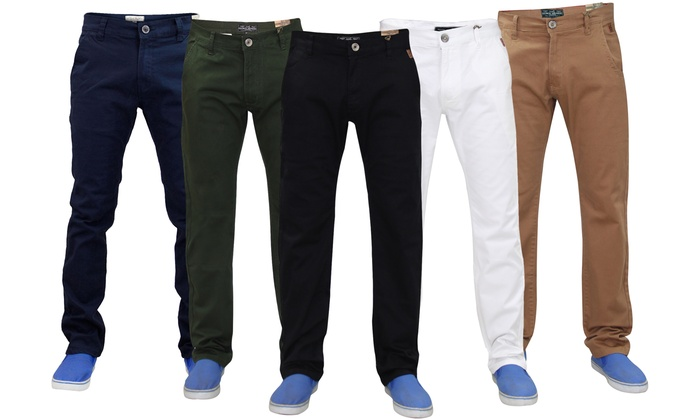 Men's Chino Trousers from £13.99