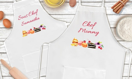 Up To 78 Off On Mother And Daughter Chef Aprons Groupon