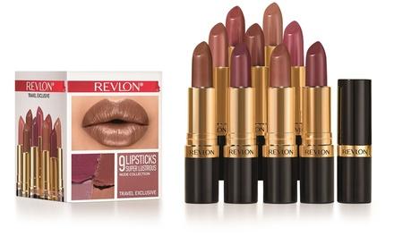 9 rouges à lèvres Super Lustrous de Revlon, Nude Edition