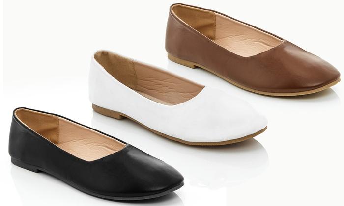 2432866022 Rasolli Sherry Women s Wide-Width Ballet Shoes