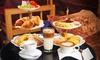 Etageren-Frühstück inkl. O-Saft