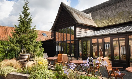 Suffolk: 1 to 3 Nights with 2AA Rosette Dinner Credit