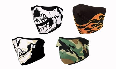 1 o 2 máscaras para frío disponibles en varios modelos desde 9,99 € (67% de descuento)