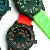 Crayo Splash Men's Silicone Strap Watch