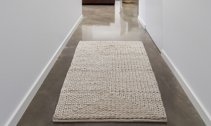 Up To 77 Off On Oversized Bath Rug Groupon Goods