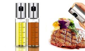 1 ou 2 bouteilles pour huile avec pulvérisateur