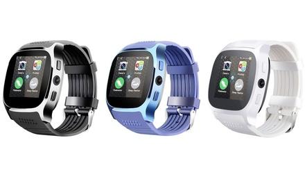 1 ou 2 montres connectées Roundline,avec traqueur dactivité et appareil photo pour Android et iPhone