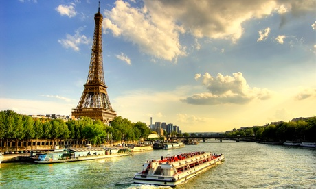 Paris : chambre double Classique ou Deluxe Premium avec option pdj et croisière sur la Seine à l'hôtel Le Dauphin pour 2