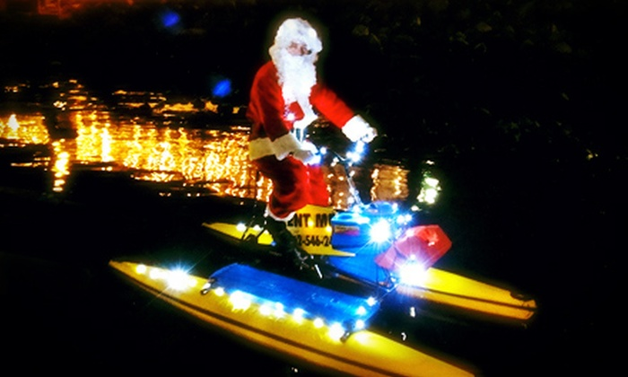 Long Beach HydroBikes - Belmont Shore: $30 for a Holiday Hydrobike Tour from Long Beach Hydrobikes ($60 Value)