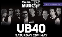 UB40: 20 May or 30 June at The Grandstand, Doncaster or High Gosforth Park, Newcastle