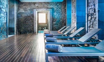 Circuito spa para 2 con opción a masaje relax o envoltura delicatessen desde 29,95 € en Hotel Balneario Orduña Plaza