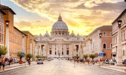 ✈ Rome: 24 Nights at a Central Rome 5* Rome Hotel Luxus Hotel with Return Flights*