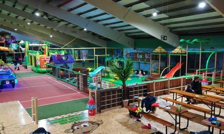 Tageseintritt für Kinder-Spielparadies Monkey Island, Bergkamen für 1 oder 2 Kinder und Erwachsene in Wetter