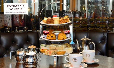 Traditional Afternoon Tea with Optional Prosecco for Two at Patisserie Valerie