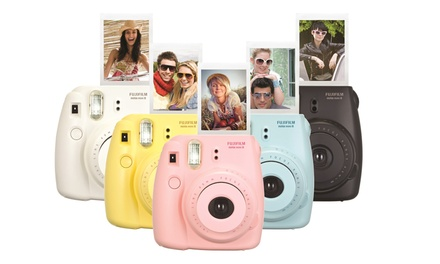 Fujifilm Instax Mini 8 Instant Film Camera with Bag in Choice of Colours (AED 319) with Optional 20 Sheets (AED 369)