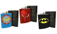 Superhero Stainless Steel Flask
