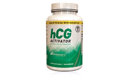 120-Capsule Bottle of Biogenetic Laboratories HCG Activator Supplements