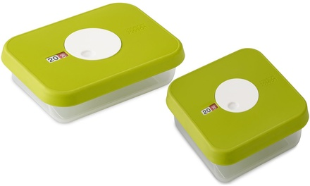 One or Two Sets of Joseph Joseph Food Containers