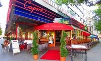 Italienisches 3-Gänge-Menü für zwei oder vier Personen im Restaurant Capone Cucina Italiana (bis zu 59% sparen*)