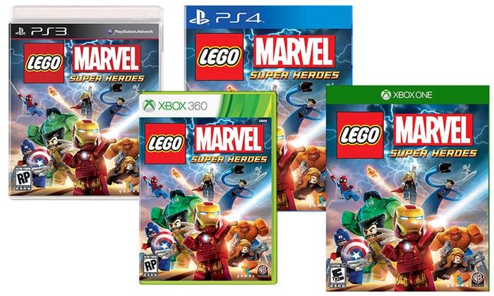 Lego Marvel Super Heroes Groupon Goods