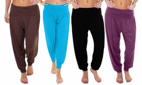 Pantalón bombacho para mujer